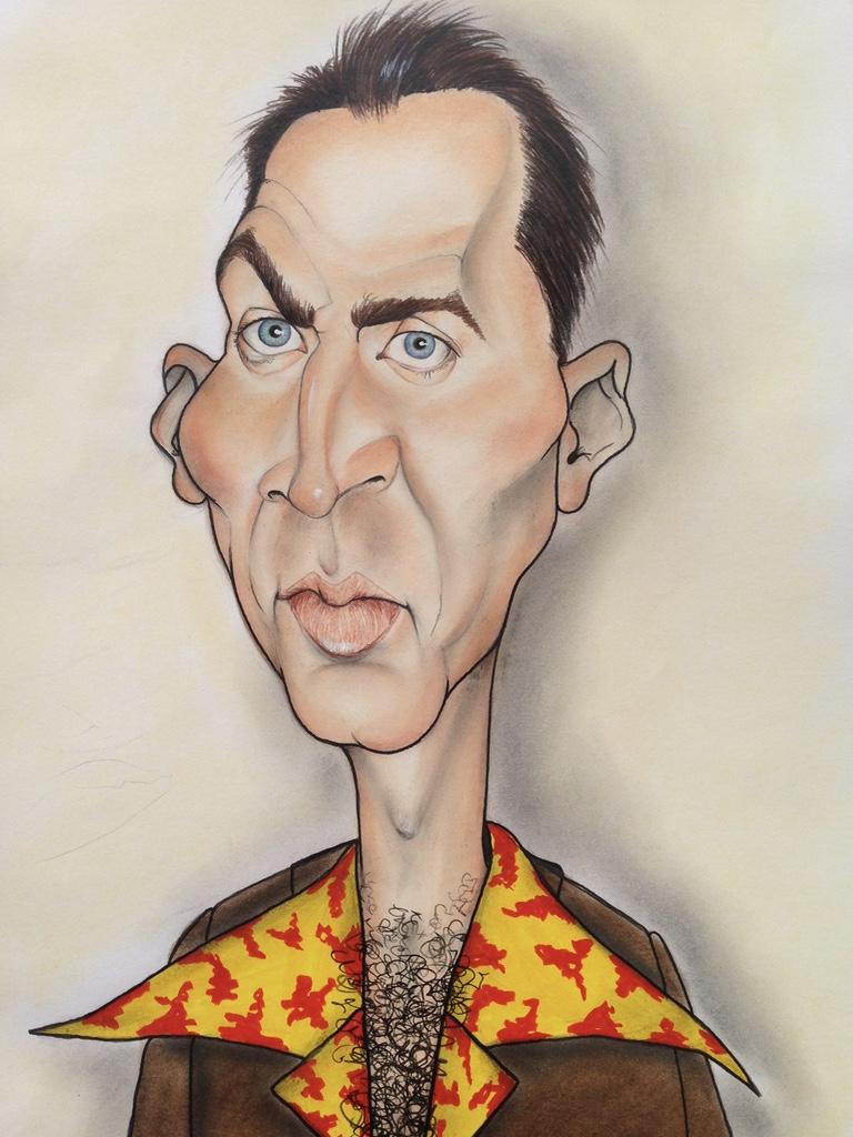Karikaturen von Prominenten